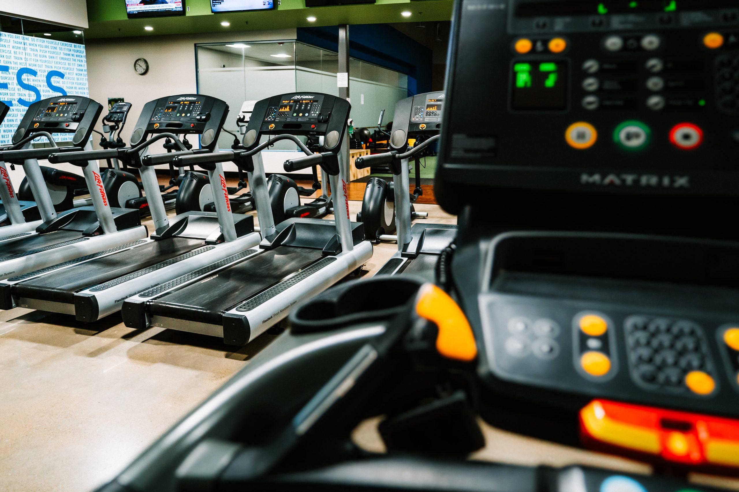 empty gym. Photo by Ryan de Hamer on Unsplash