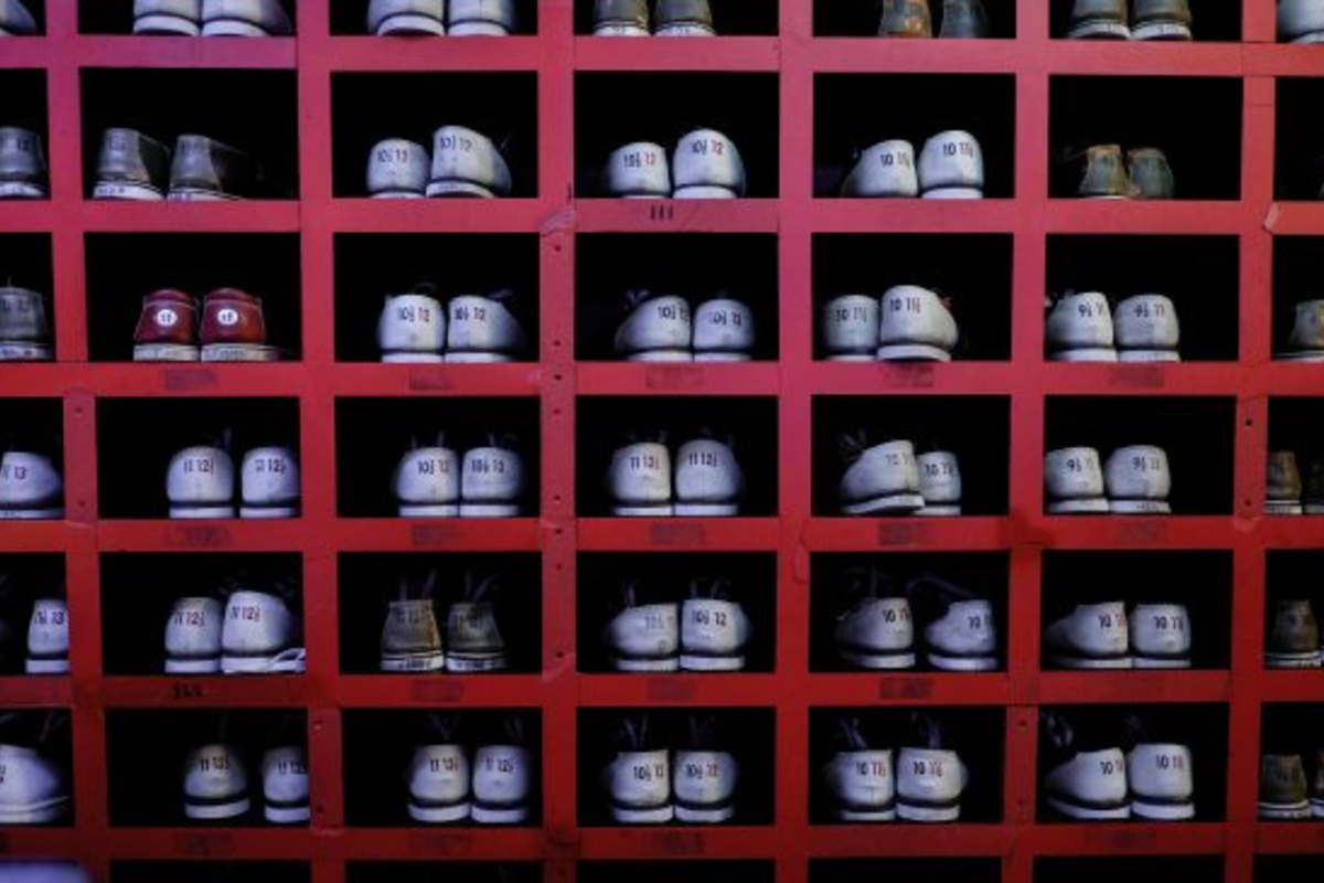 Bowling shoes, NYC. Photo by Alev Takil on Unsplash