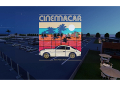 Cinemacar drive-in publicity image, Alicante, Spain