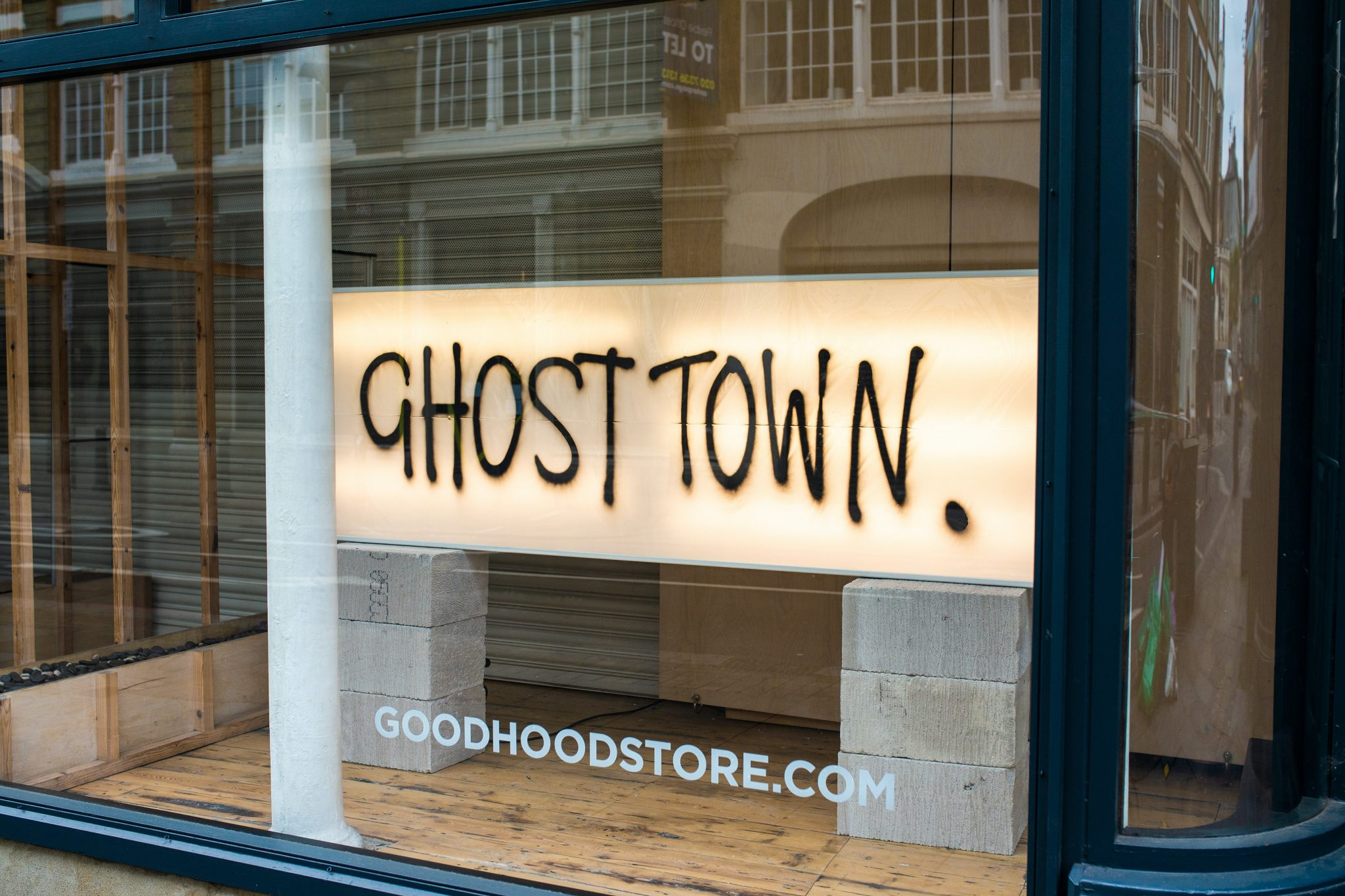 'Ghost Town' shop. Photo by Ben Garratt on Unsplash