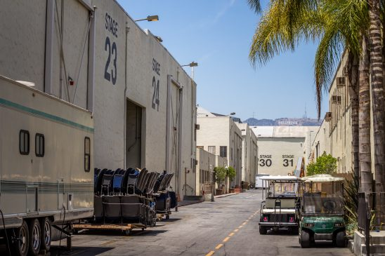 Deserted film lot, Paramount Studios. Photo by Christian Joudrey on Unsplash