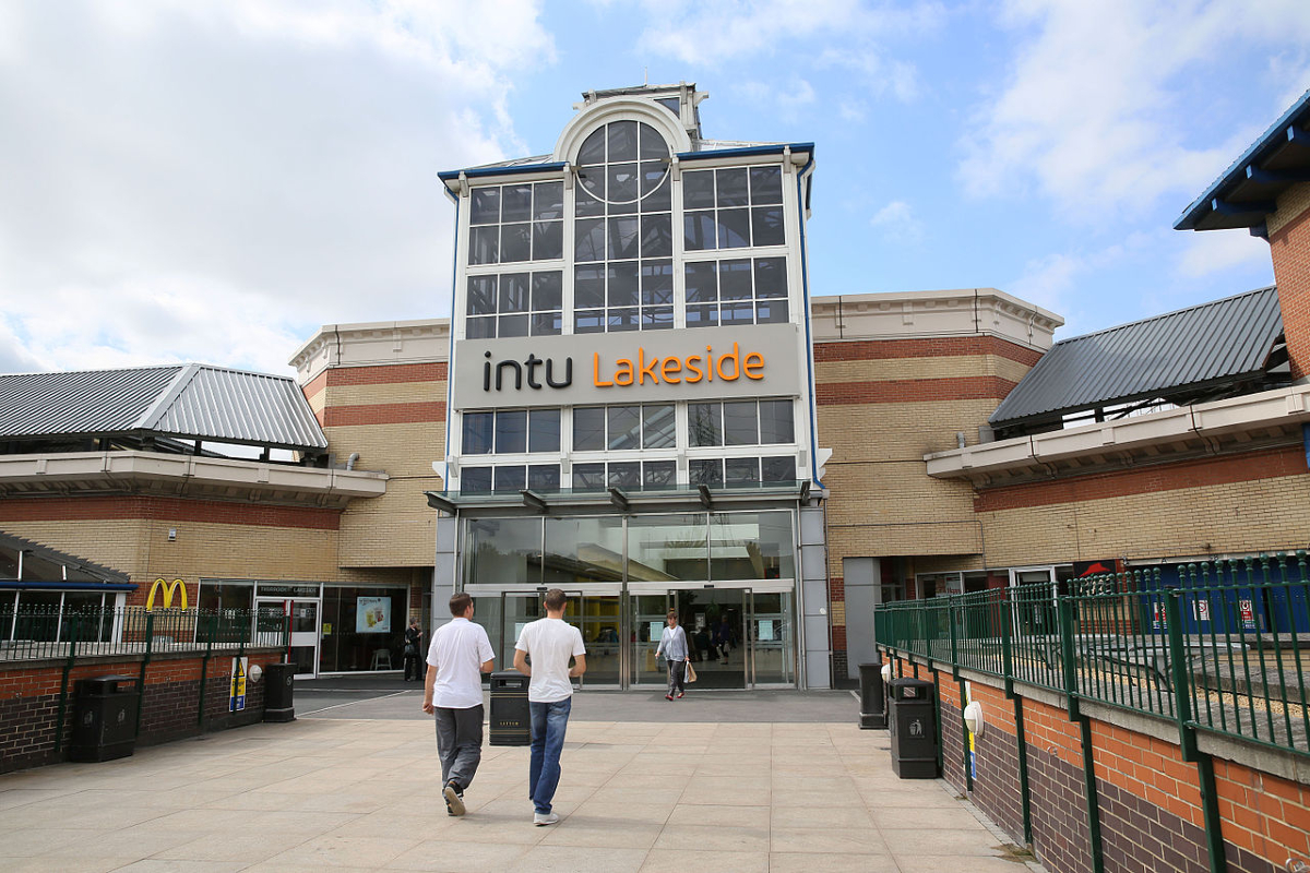 intu's Lakeside Shopping Centre