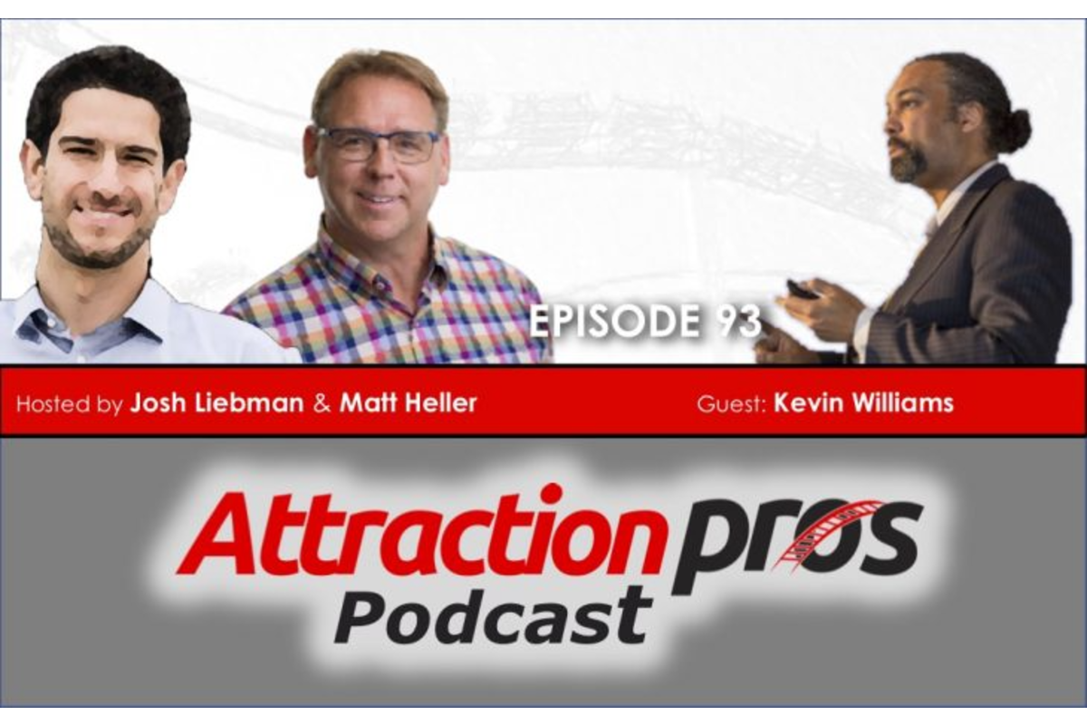 AttractionPros Episode 93- Kevin Williams