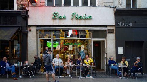 Bar Italia, Frith St, Soho by sbally on Flickr