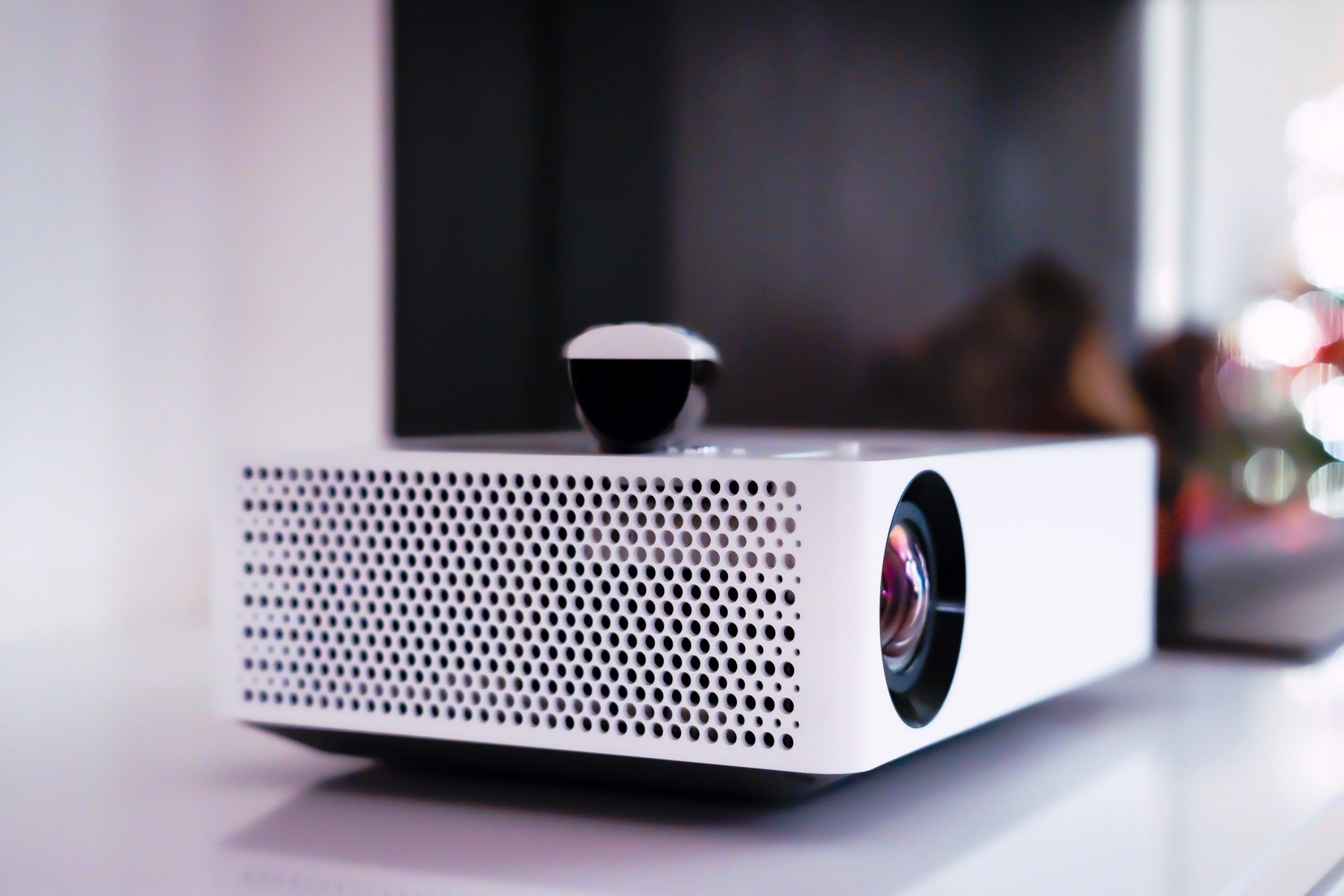 LG Beamer projector. Photo by Dylan Calluy on Unsplash