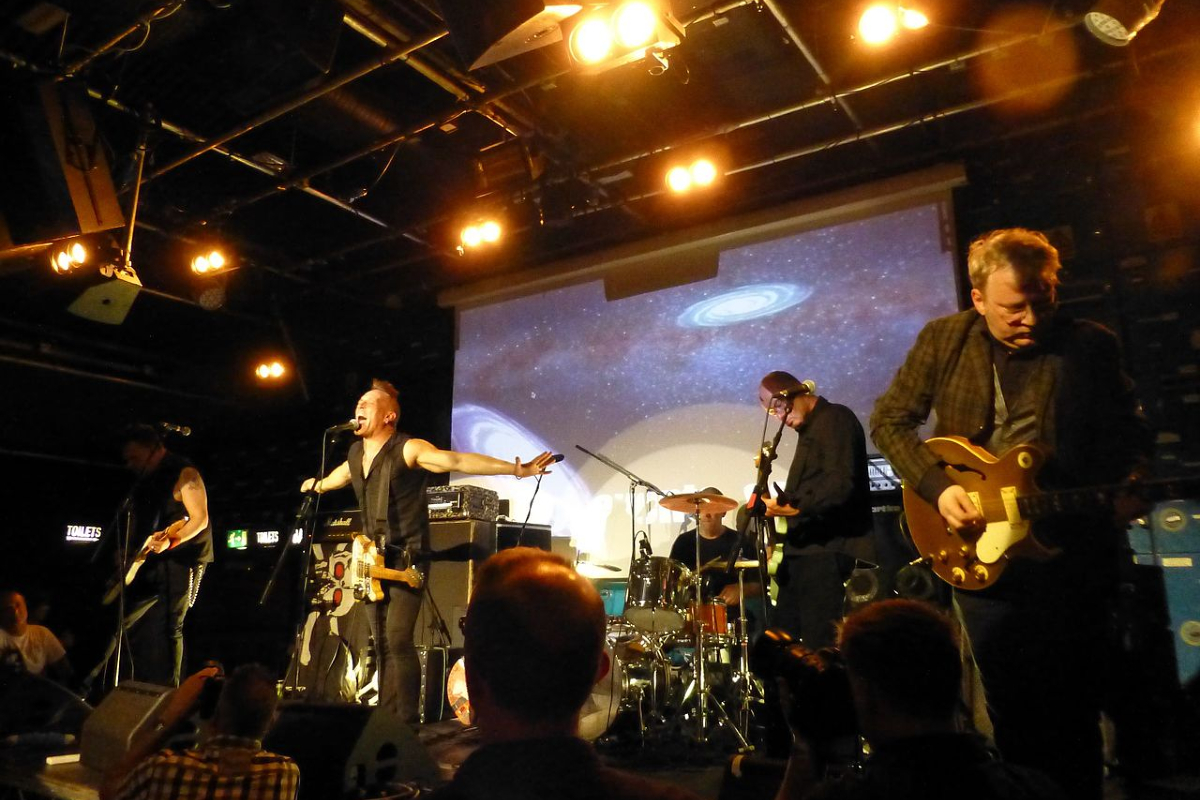 The Membranes play Gorilla, Manchester. Photo - Wikimedia Commons