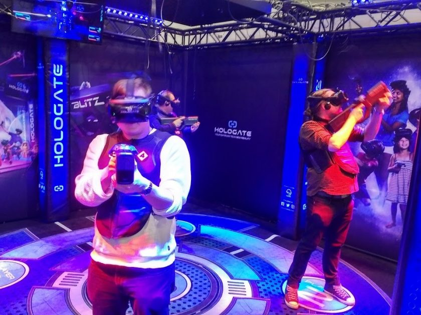 VR gamers. Photo KWP
