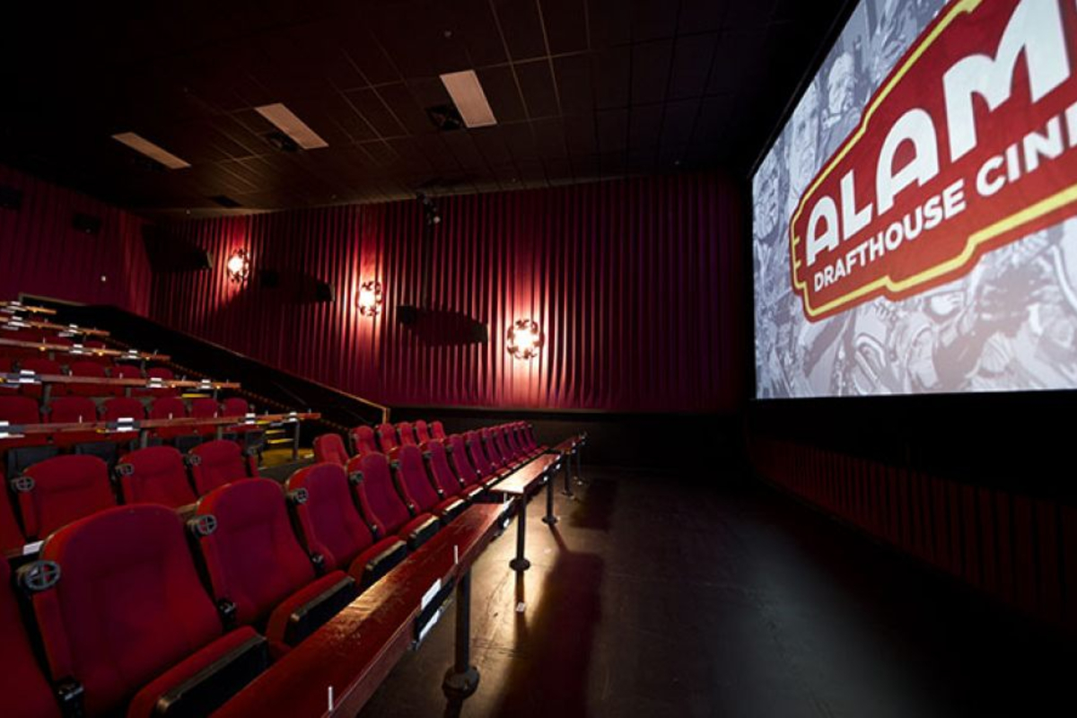 Alamo Drafthouse auditorium. Photo: Alamo Drafthouse