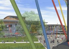 CGI artist impression of proposed leisure complex