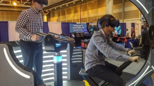 The Stinger Report VR gamers