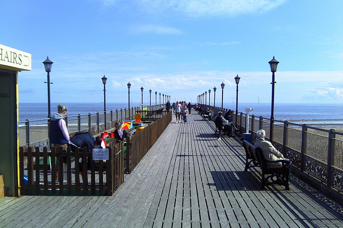 Skegness Pier. Photo: Wikimedia Commons
