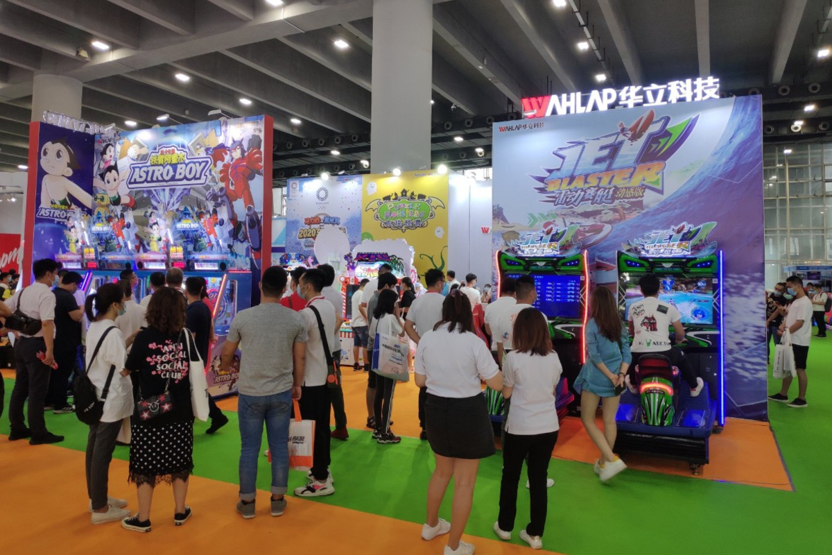 Asia Amusement & Attraction Expo (AAA). Photo: KWP, The Stinger Report