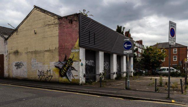 MOT garage, Swan St Manchester