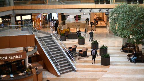 Near-empty mall. Photo by Herry Sutanto on Unsplash