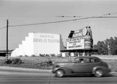 Orange Drive-In Theatre, photo: Wikimedia Commons