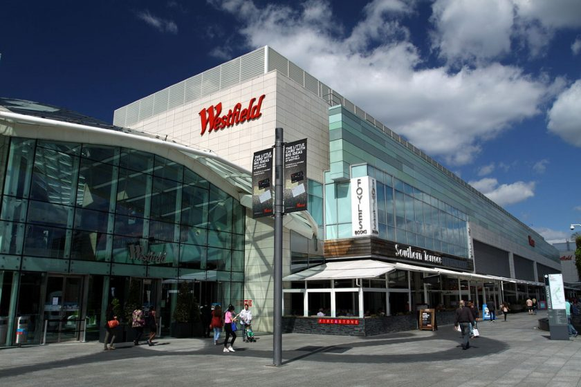 Westfield London shopping centre. Photo Wikimedia Commons