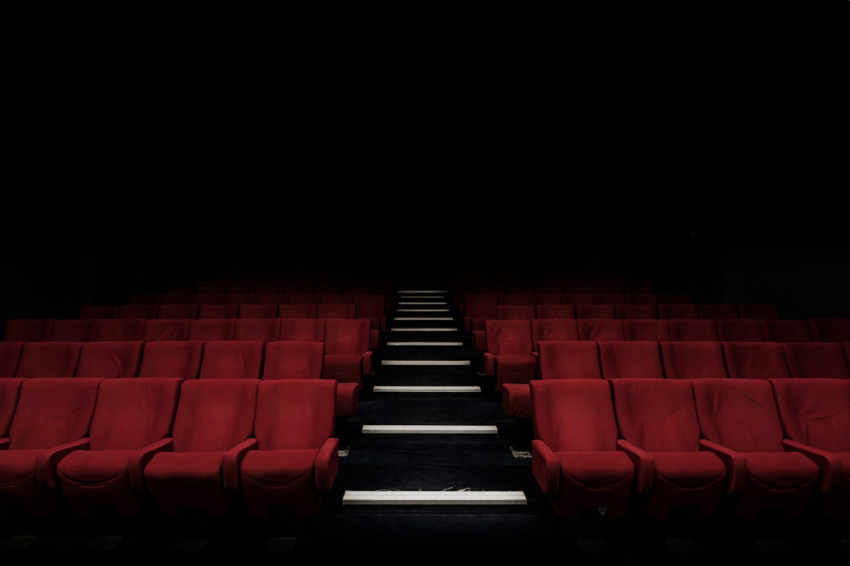 empty cinema photo by Felix Mooneeram on Unsplash