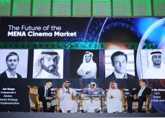 Future of MENA cinema market panel 2019