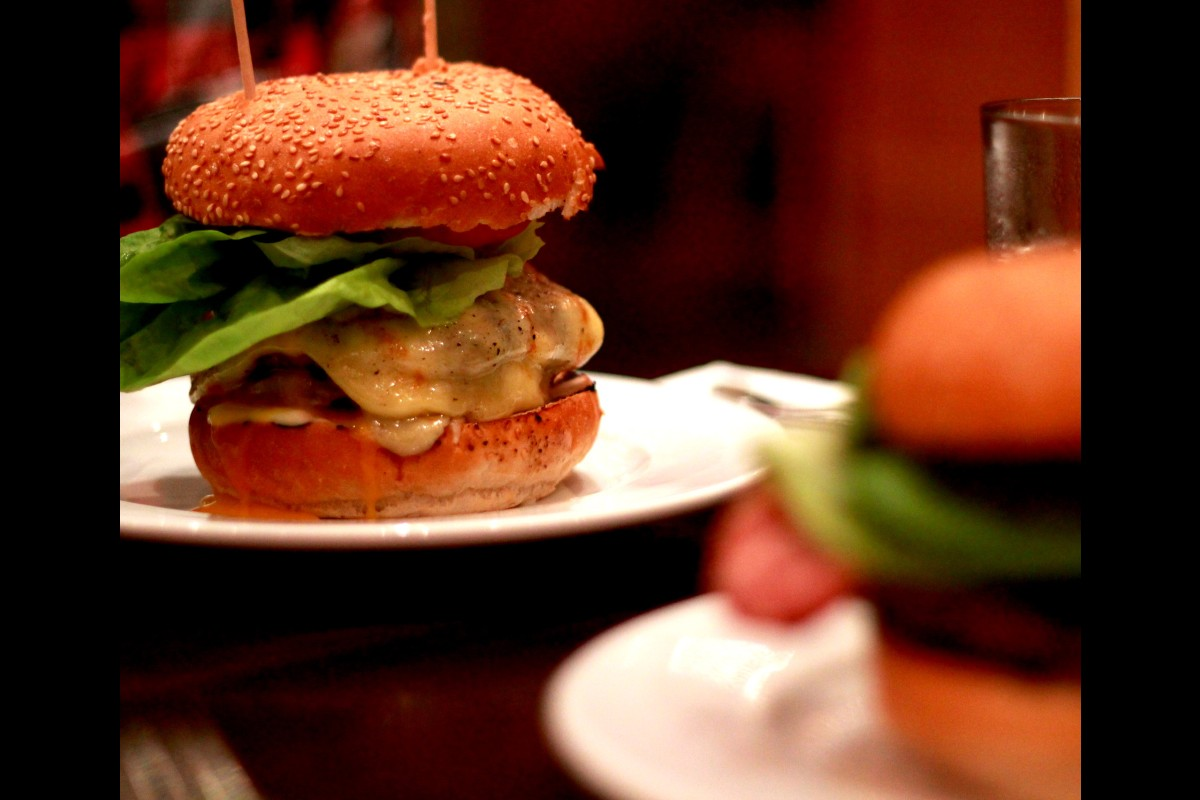 GBK burger. Photo by Andre Luis on Flickr https://www.flickr.com/photos/andr3/