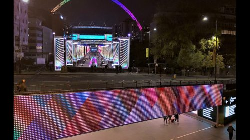 Eclipse Digital Media digital signage and av audio visual at Wembley Park