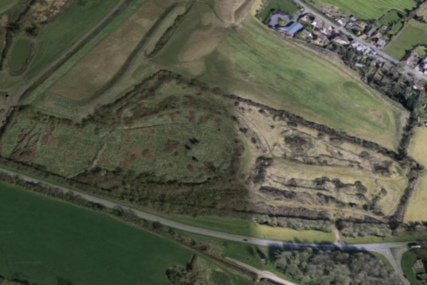 Google image of Broughton Astley golf site