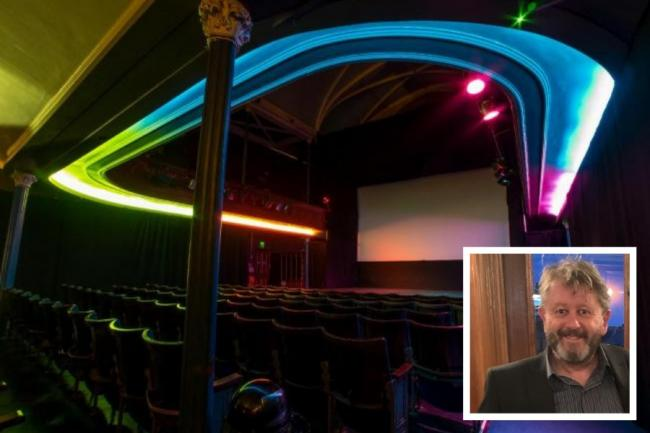 Helensburgh cinema and founder image Helensburgh Advertiser