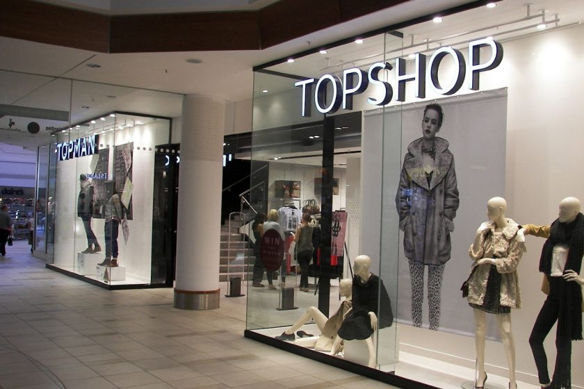 Topshop. Photo - Wikimedia Commons