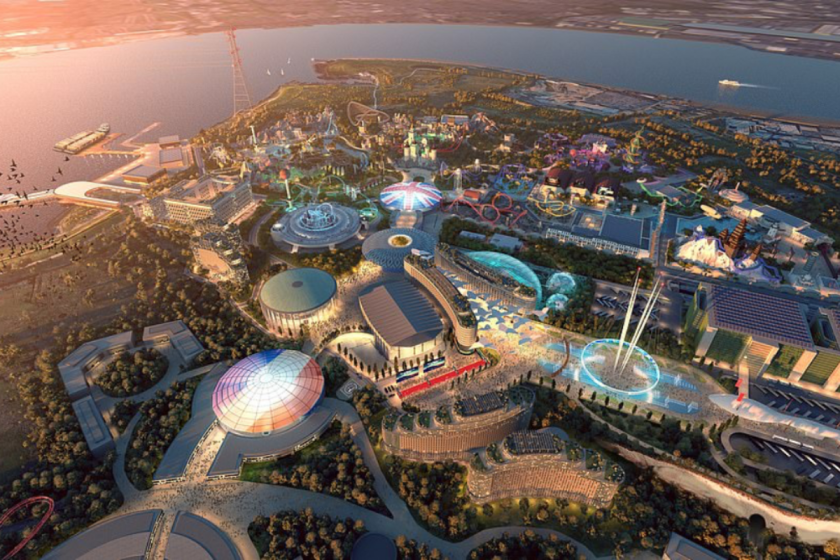Rendering of The London Resort