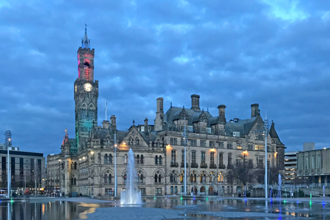 Blue Hour in Bradford by Tim Green on Flickr