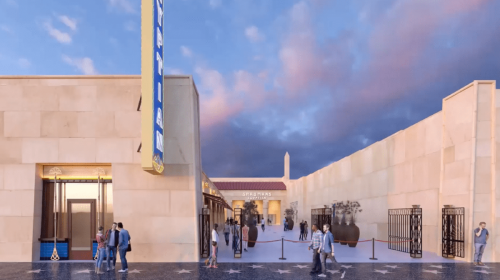 Egyptian Cinema Los Angeles - Rendering
