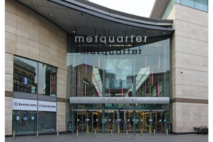 Metquater main entrance