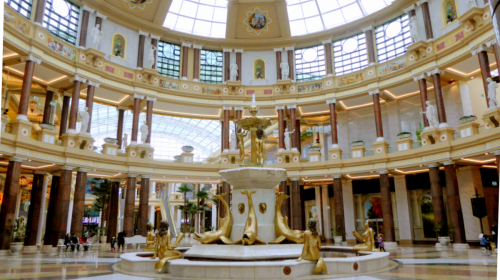 Barton Square, Trafford Centre by Ardfern on Wikimedia Commons