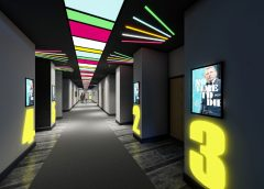 The Arc Cinema, Ayr (corridor)