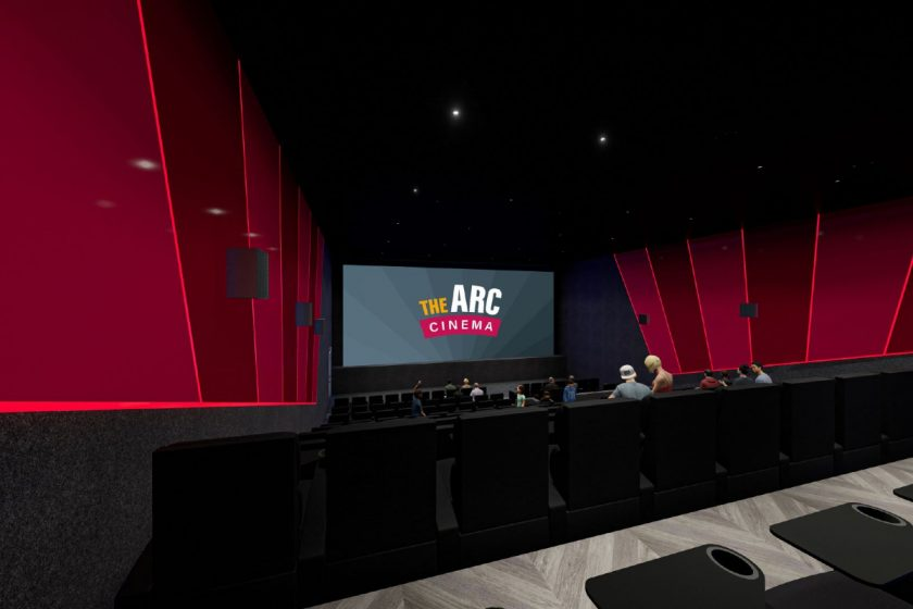 The Arc Cinema, Ayr (screen)