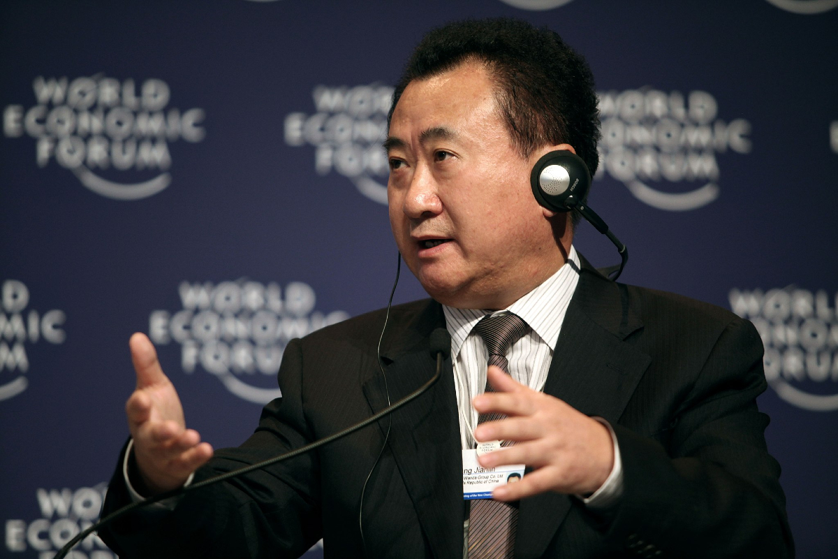 Wang Jianlin – Wikimedia Commons