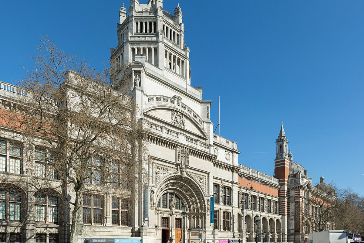 V&A Museum, London. Photo: Wikimedia Commons