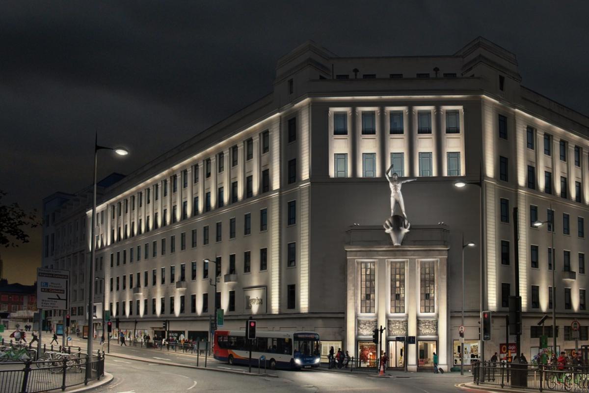 Lewiss Liverpool Lighting CGI