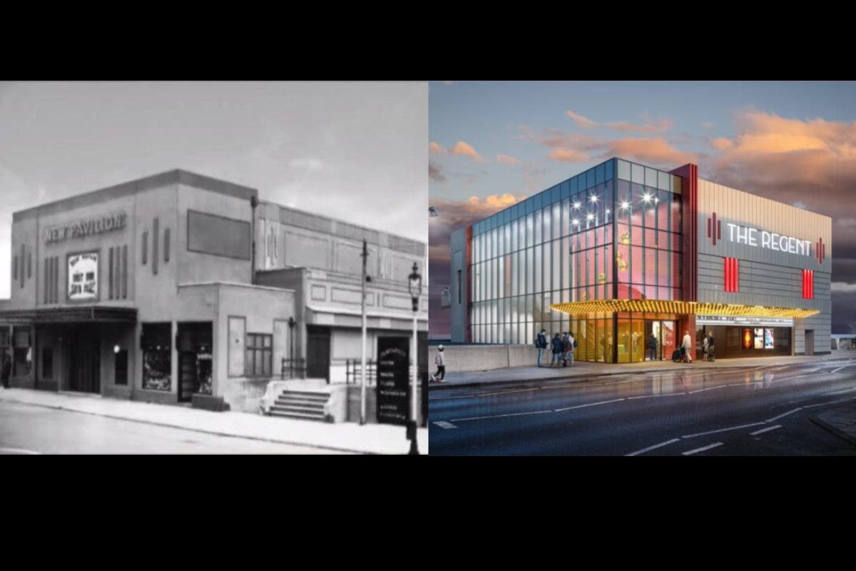 Former New Pavilion Cinema and upcoming Regent Cinema