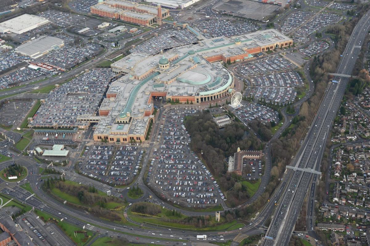 Trafford Centre aerial