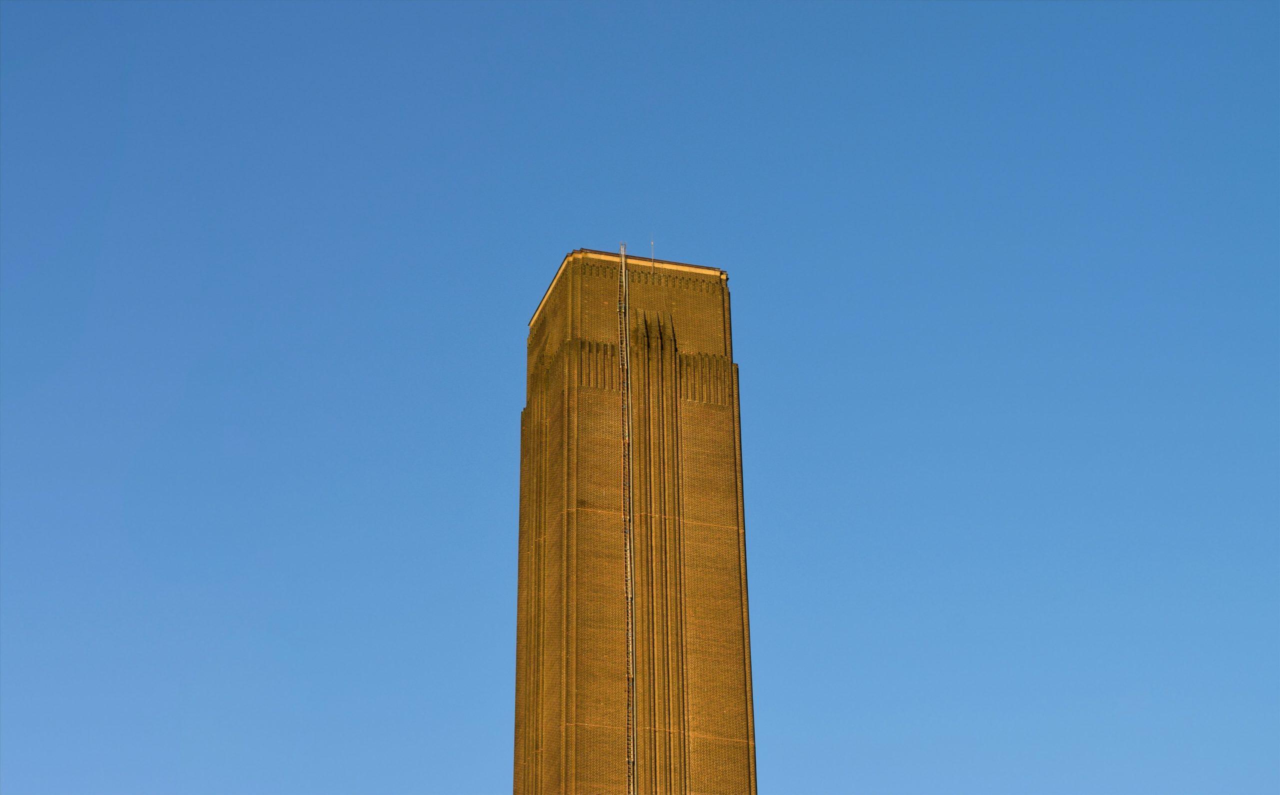 Tate Modern chimney. Photo by George Prentzas on Unsplash